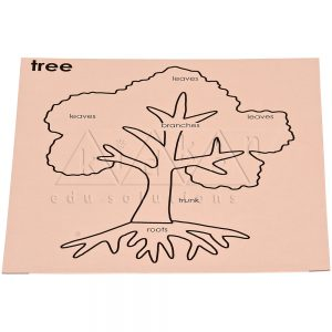 Control card for Tree Puzzle | Montessori Puzzles | Preschool Educational Toys | Kidken Edu Solutions