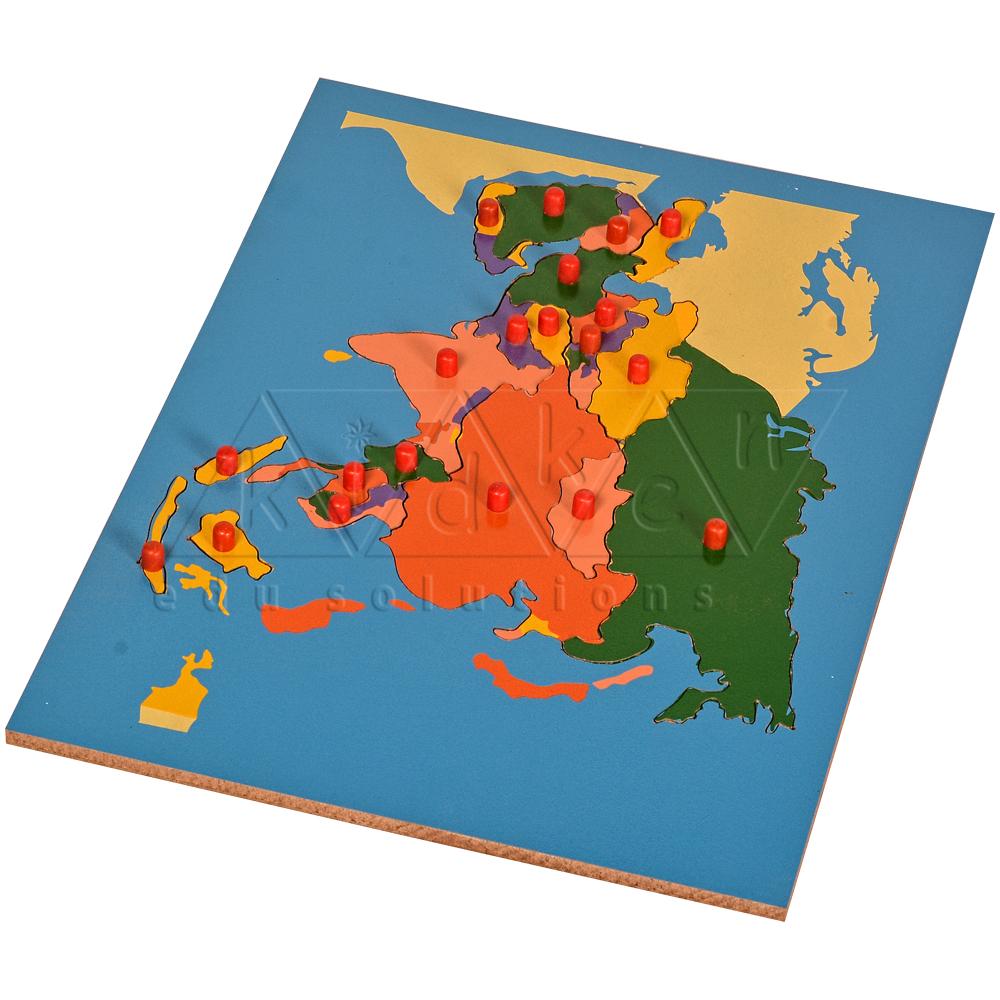 Map Puzzle Asia BR Kidken Edu Solutions – Asia Map Puzzle