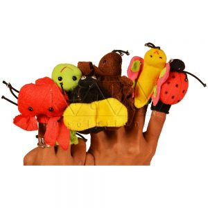 Finger Puppets - Insects | Hand Puppets for Kids | Play School Materials | Kidken Edu Solutions