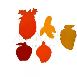 Fruits Stencils Puzzle | Montessori Puzzles | Preschool Educational Toys | Kidken Edu Solutions