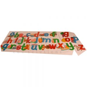 Alphabets wall cut out | Montessori Learning Aids | Kidken Edu Solutions