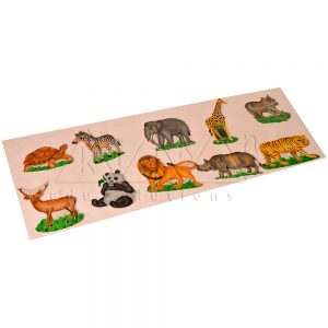 Animals wall cut out | Montessori Learning Aids | Kidken Edu Solutions