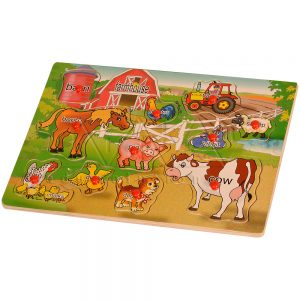 Kids PlaySchool Materials | Farm Puzzle | Kidken Edu Solutions
