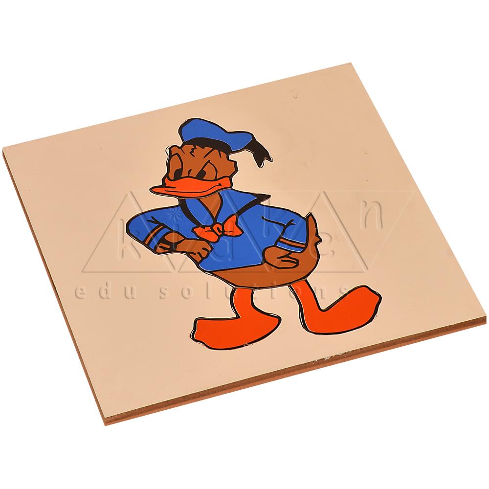 donald duck puzzle