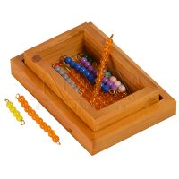 Bead Material for Seguin Ten Board | Montessori Math Materials | Kidken Edu Solutions