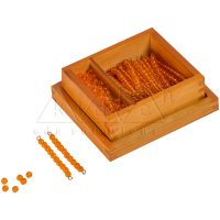 Bead Material For Seguin's Ten Board Bead Material for Seguin Ten Board | Montessori Math Materials | Kidken Edu Solutions