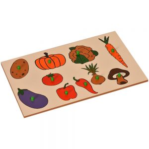 Inset Boards - Vegetables | Kidken Edu Solutions