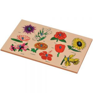 Inset Boards - Flowers | Kidken Edu Solutions