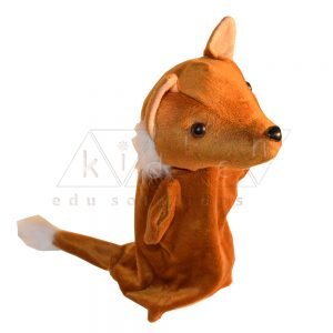 Fox Hand Glove Puppet