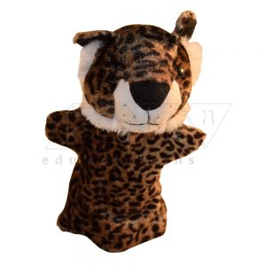 Leopard hand Glove puppet