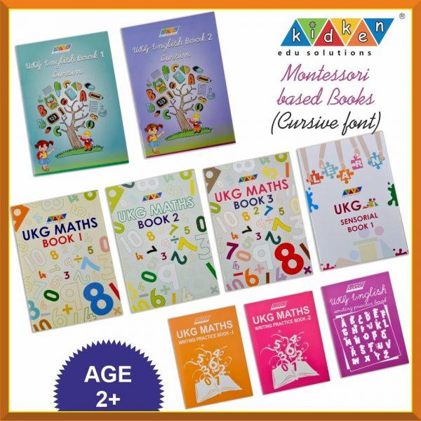 UKG Cursive Books