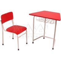 Trapezium Table | Montessori Classroom Materials | Montessori Furniture | Kidken Edu Solutions