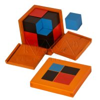 Binomial Cubes | Montessori Math Materials | Preschool Educational Toys | Kidken Edu Solutions
