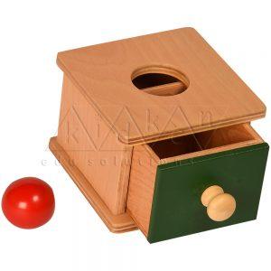 Imbucare Box with Rectangular Prism | Toddler montessori materials | montessori furniture | Kidken Edu Solutions