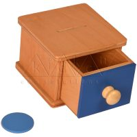 Infant Coin Box | Toddlers Montessori materials | montessori furniture | Kidken Edu Solutions