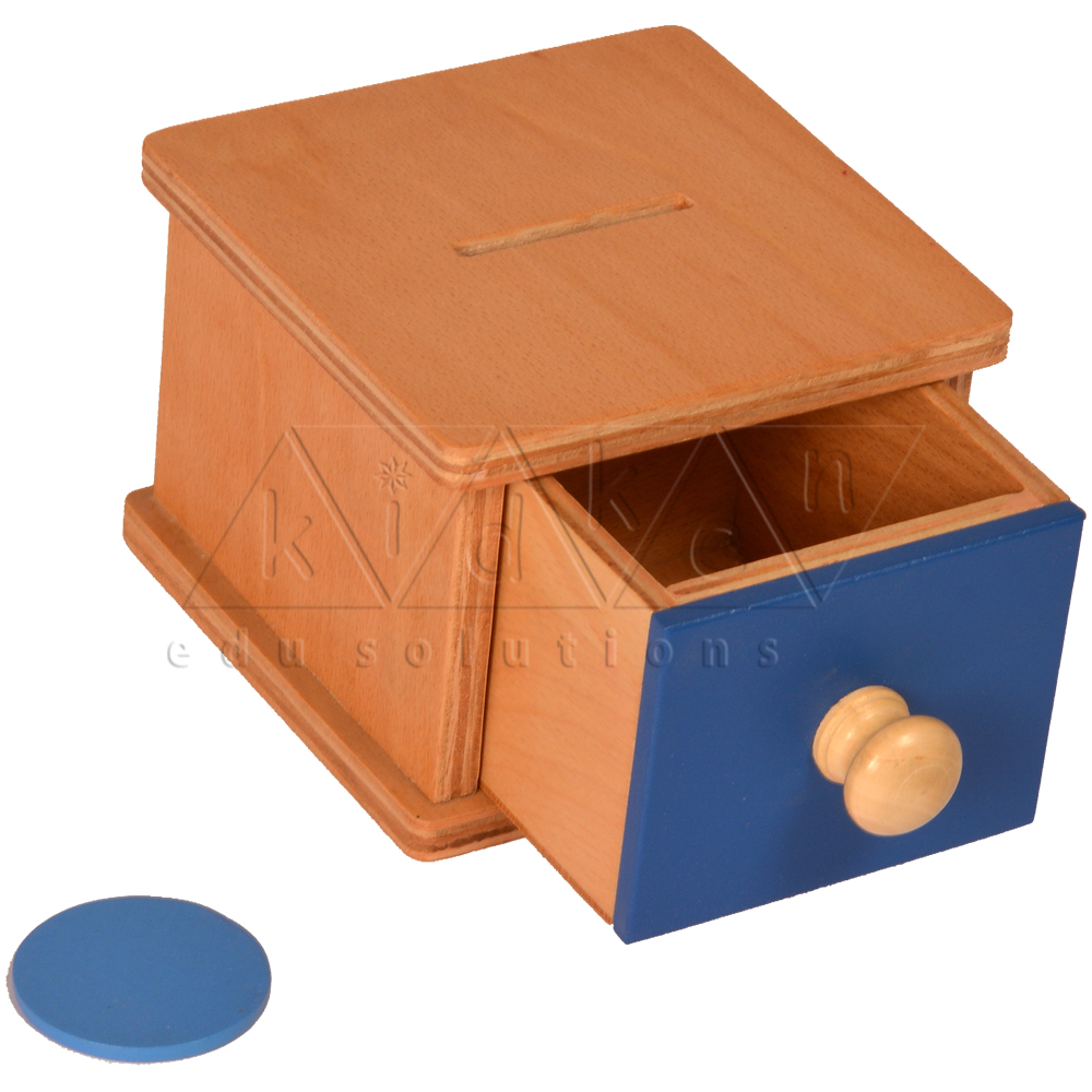 Infant Coin Box Toddler Montessori Infant Coin Box